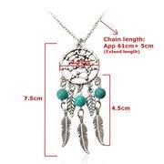 Vintage Dream Catcher Pendant Chain Necklace