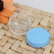 Empty Transparent Cosmetic Jar Eyeshadow Nail Decals Face Cream Bottle