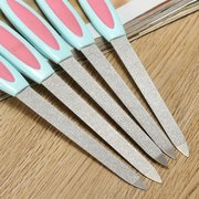 5Pcs Dual-head Sanding Nail Files Dead Skin Remover Manicure Tools Hand Foot Care