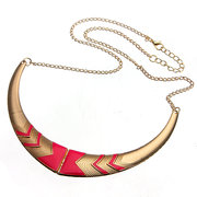 Nations Style Foldable Collar Statement Necklace