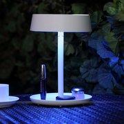 Инновационная аккумуляторная Складная светодиодные зеркало для макияжа лампы рабочего Розовый Белый
