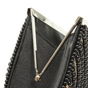 Fahion Woman Pearl Evening Party Clutches Bag
