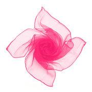 Women Chiffon Silk Slim Soft Square Pure Candy Color Scarf