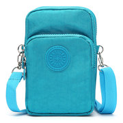 Universal 6.3 Inches Sport Storage Bag Detachable Strap Arm Three-Layers Shoulder Bag For Smartphone
