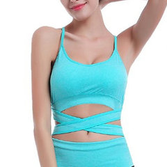 Sexy Seamless Quick-dry Shockproof Sports Bras Wireless Breathable Yoga Vest Bra
