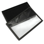 100 Grid Tray Earrings Ring Shop Display Jewelry Boxes