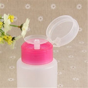 150ML Squeeze Pump Polish Dispenser Empty Bottle Nail Art Remover UV GEL Cleaner