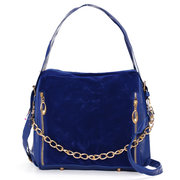 Women Frosted Leather Hobo Bags Vintage Crossbody Bags