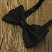 Men Gentle Classic Tuxedo Suit Bowtie Mate Banquet Adjustable Necktie Bow Tie