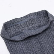 Thick Tights Vertical Strip Knit  Pants Pantyhose Skinny Leg Stretchable Step Foot Stocking Hosiery