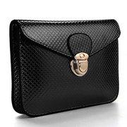 Women Mini Solid Toothpick Grain Handbag