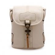 Women Outdoor Casual PU Backpack Bucket Crosssboby Bag