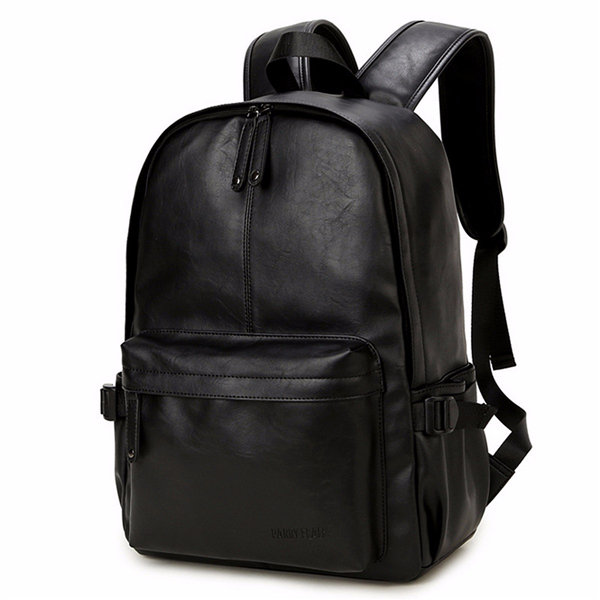 Women Men Black Casual Travel Outdoor Backpack Girls Leisure ...