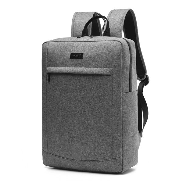 17 Inch Canvas Waterproof Laptop Bag Travel Business Backpack For ...
