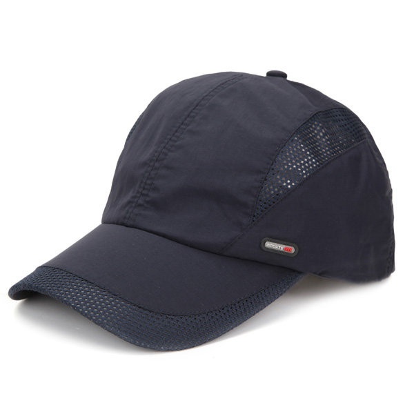 Outdoor Quick-drying Baseball Cap, Navy black white dark gray light gray