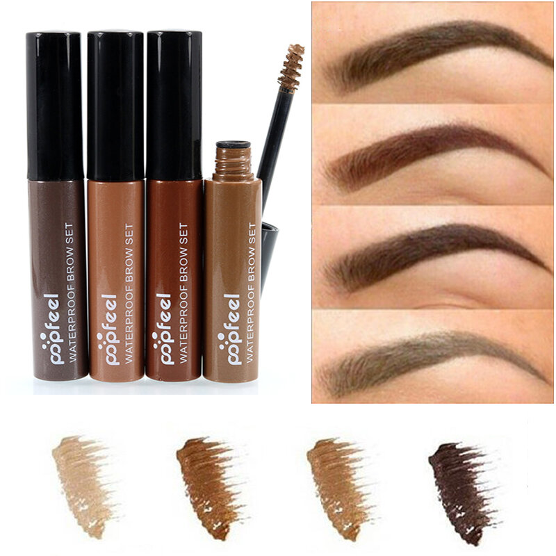 Professional Popfeel Eyebrow Enhancer Gel Waterproof Long Lasting