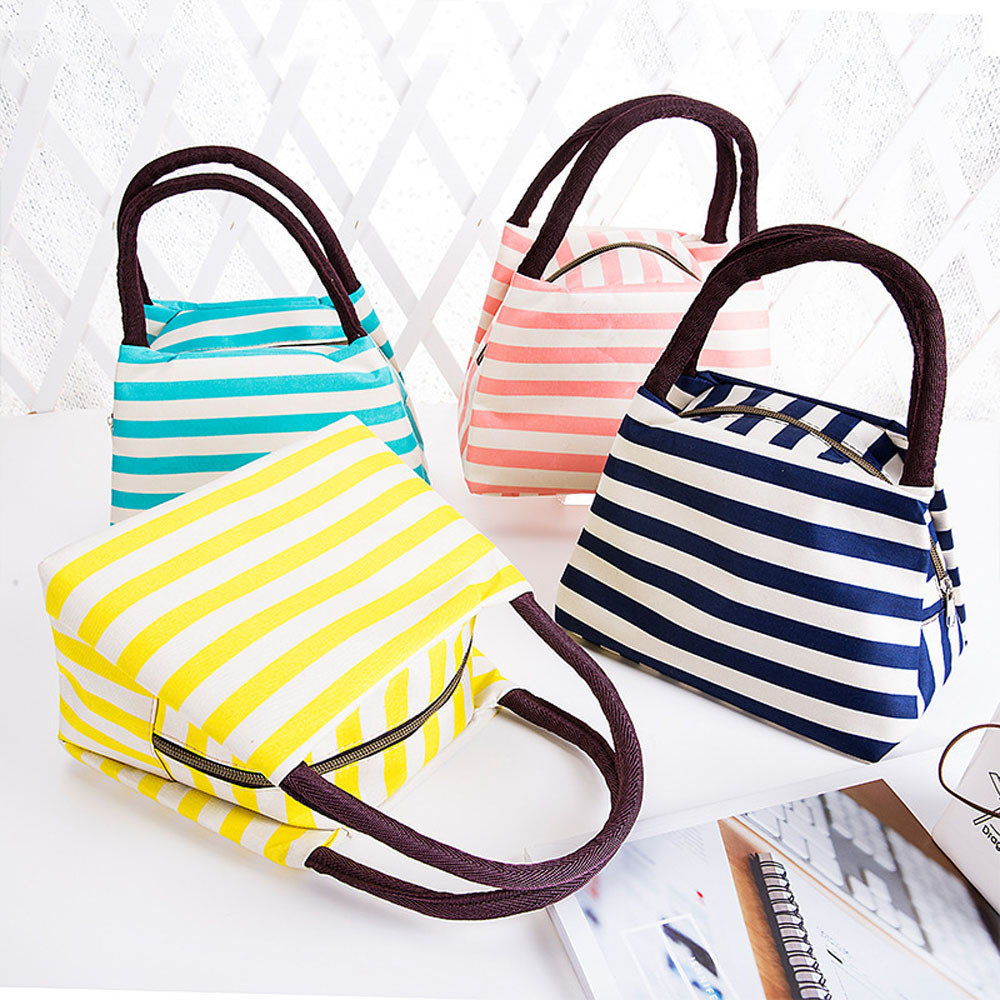Oxford Lunch Tote Bag Cooler Insulated Handbag Zipper Storage Containers  sc 1 st  Newchic & Oxford Lunch Tote Bag Cooler Insulated Handbag Zipper Storage ...