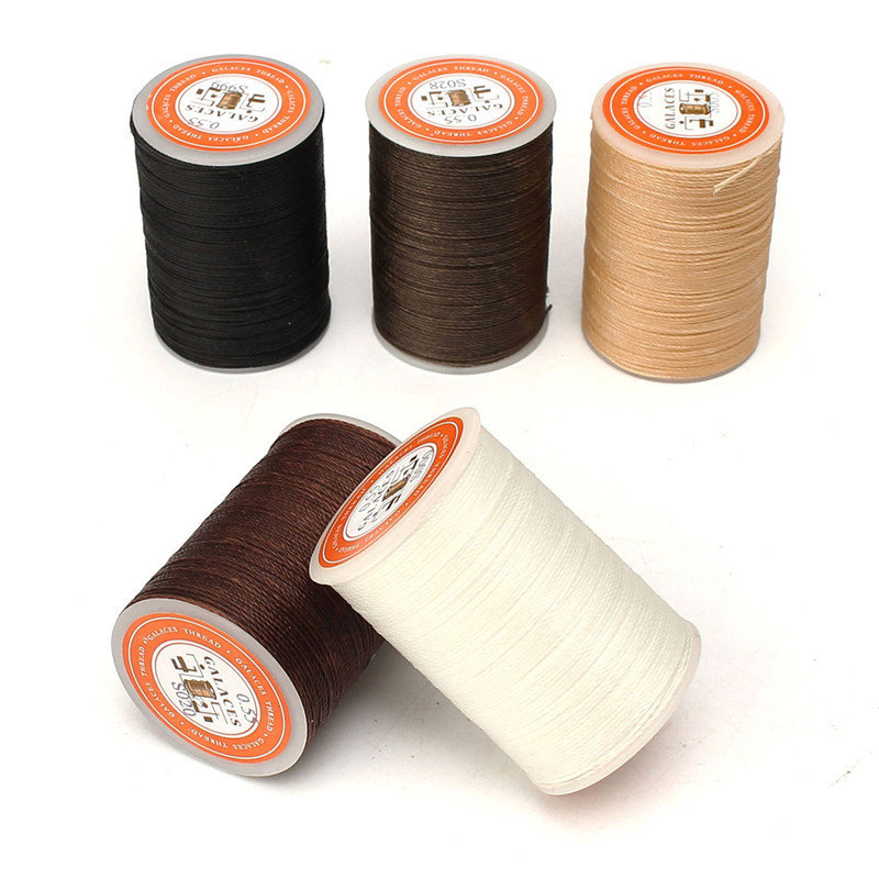 115m Dacron Wax Line, Coffee black