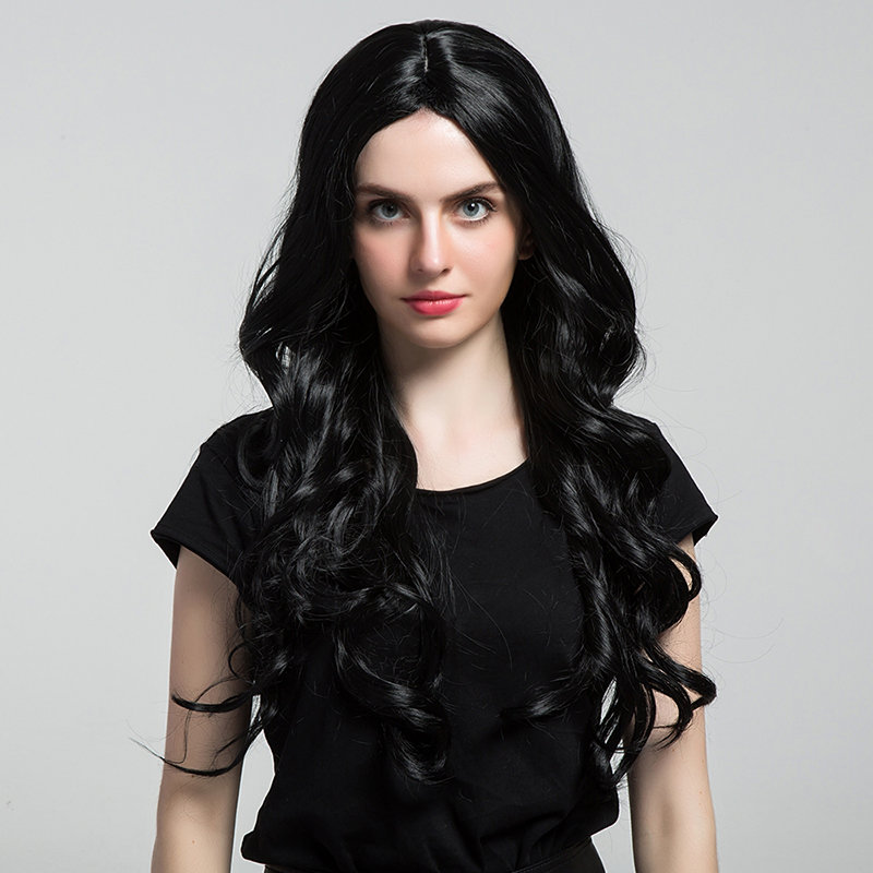 Long Curly Wave Synthetic Hair Wig