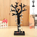 Women's Acrylic Jewelry Earring Necklace Tree Display Stand