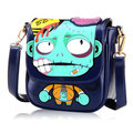 Womens Handbag Cartoon Print Shoulder Cute Bags PU Sling Bag Crossbody Bags