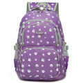 Girls Large Capacity Nylon Backpack Laptop School Shoulder Bags