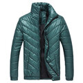 Plus Size Winter Fashion Windproof Thicken Warm Slim Padded Jacket for Men