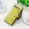 Women Stylish Long Wallet Zipper Purse Card Holders