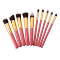 10Pcs Makeup Brushes Set Face Powder Blush Contour Foundation Cosmetic Brush