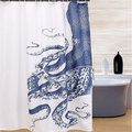 150X180cm Octopus Kraken Pattern Waterproof Bathroom Curtain Polyester Fabric Bath Curtain