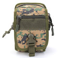 Men Nylon Tactical Small Crossbody Bag Outdoor Sports Waist Bag