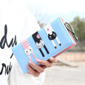 Women 3 Cat Long Wallet Girls Cute Animal Printing Purse Card Holder Coin Bags