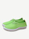 Men And Women Lover Mesh Breathable Beach Slip On Flat Casual Sport Shoes