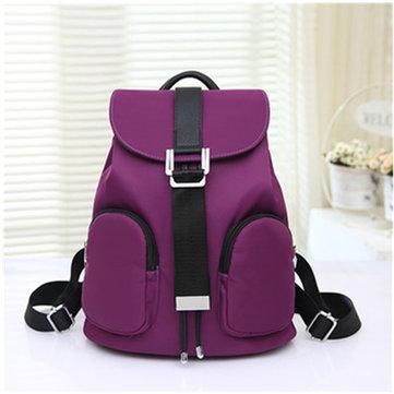 Women Men Versatile Nylon Casual Backapck Travel Sport Outdoor Bags
