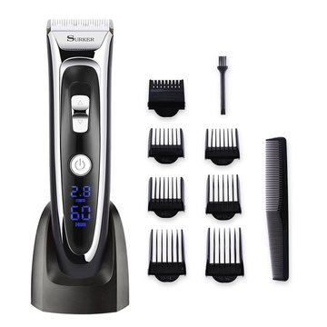 Rechargeable Hair Clipper Trimmer Beard Shaver Cordless Ceramic Blade For Men