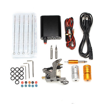 Professional Practical Tattoo Machine Kit Mini Power Supply