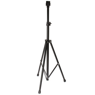 Black Tripod Stand Holder Hairdressing Training Head Mold Mannequin With Carry Bag