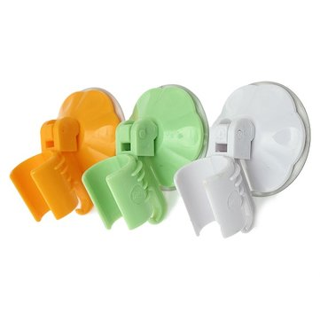 Home Bathroom Suction Cup Wall Mount Adjustable Shower Head Holder