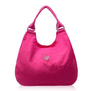 Woman Durable Nylon Handbag Leisure Classic Shoulder Bag Tote Bag