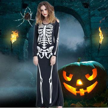 Prop Vampire Clothes Cosplay Skeleton Holloween