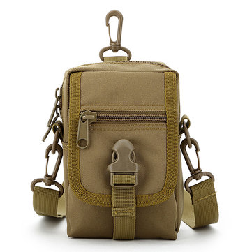 9 Colors Tactical Camouflage Crossbody Bag Outdoor Casual Nylon Phone Bag For Men