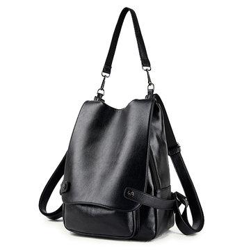 Ekphero Genuine Leather Multifunctional Crossbody Bag Shoulder Bags Backpack