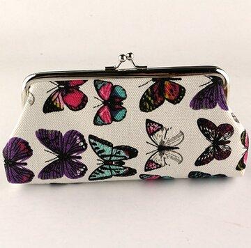 Бумажника с бабочками