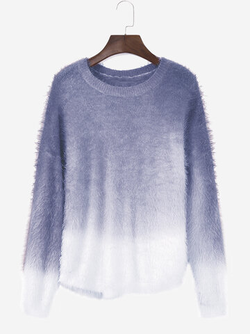 Casaul Gradient Women Sweaters