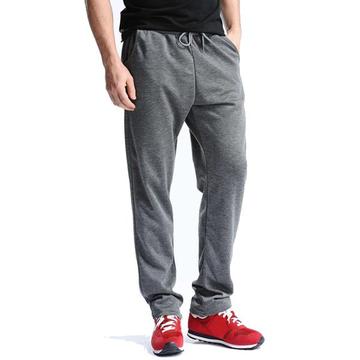 Мужские сплошные цветные повседневные тренировочные брюки Relaxed Fit Drawstring Spring Fall Cotton Sport Pants