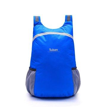 Frauen Herren Klappare Tasche Tragbare Reisetasche Rucksack Leichte Hauttasche Rücksack Schultertasche