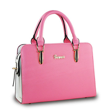 Women Retro Tote Stylish Candy Color Shoulder Bag Crossbody Bag