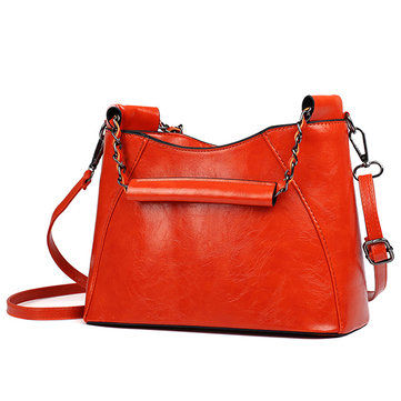 Women PU Handbag Portable Crossbody Bag Classic Messenger Bag