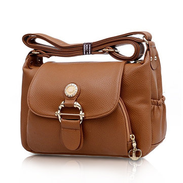 Женщины Элегантная повседневная сумка для кросс-плеча Большая сумка для отдыха для отдыха
