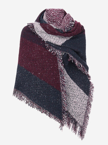 Tassel Shawl Scarves Cape